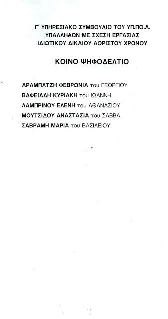 Γ ΑΟΡΙΣΤΟΥ