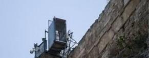 Καταγγελία ΣΕΠΙΕ: Επικίνδυνο ικρίωμα στο Βόρειο τείχος της Ακρόπολης Αθηνών.