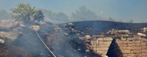 Φωτιά στις Μυκήνες: ανυπολόγιστη καταστροφή στον αρχαιολογικό χώρο