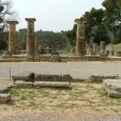 Bοτανικός κήπος στην Αρχαία Ολυμπία